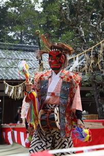 押立神社 ドケ祭りの写真素材 [FYI04539562]