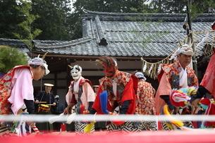 押立神社 ドケ祭りの写真素材 [FYI04539564]