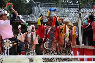 押立神社 ドケ祭りの写真素材 [FYI04539565]