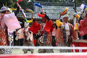 押立神社 ドケ祭りの写真素材 [FYI04539566]