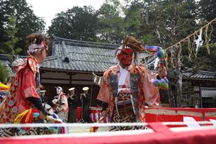 押立神社 ドケ祭りの写真素材 [FYI04539568]