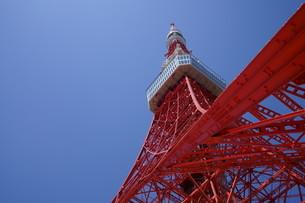 東京タワー 青空の写真素材 [FYI04540154]