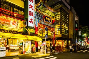 横浜中華街の写真素材 [FYI04540882]