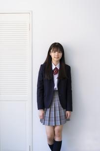 女子学生の写真素材 [FYI04541121]