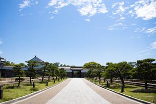 大阪城大手門の写真素材 [FYI04541234]