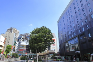 五反田駅東口の写真素材 [FYI04541296]