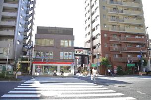 戸越駅前交差点の写真素材 [FYI04541319]