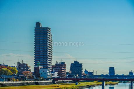 広瀬川(宮城県仙台市)イメージの写真素材 [FYI04541643]
