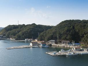 三重県志摩市 英虞湾 真珠養殖の写真素材 [FYI04542212]