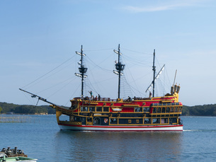 三重県志摩市 英虞湾 遊覧船エスペランサの写真素材 [FYI04542215]