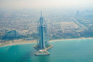 ドバイ(アラブ首長国連邦)の都市風景の写真素材 [FYI04542446]