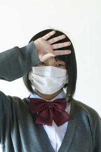 熱がある中学生の写真素材 [FYI04545490]