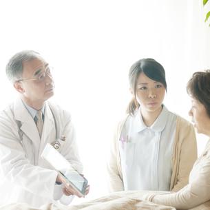 訪問医療の写真素材 [FYI04547571]