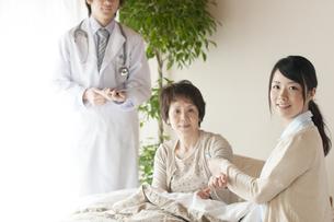 訪問医療の写真素材 [FYI04547594]