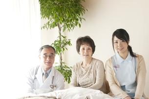 訪問医療の写真素材 [FYI04547599]