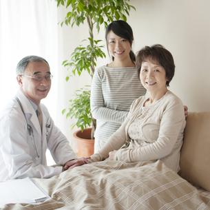 訪問医療の写真素材 [FYI04547617]