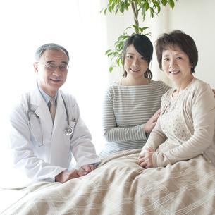 訪問医療の写真素材 [FYI04547618]