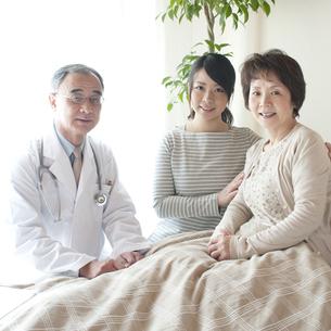 訪問医療の写真素材 [FYI04547619]