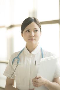微笑む看護師の写真素材 [FYI04548164]