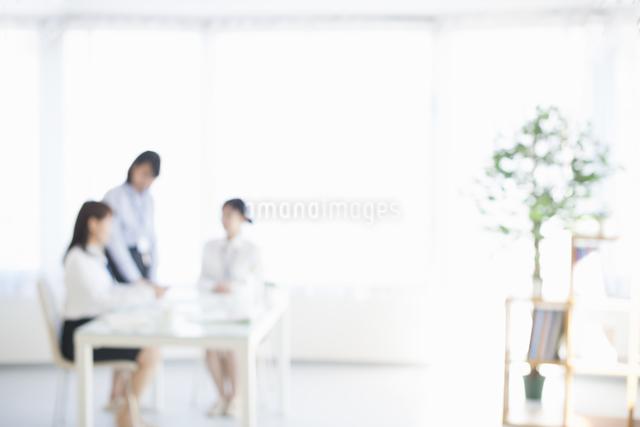 オフィスの背景素材の写真素材 [FYI04552536]
