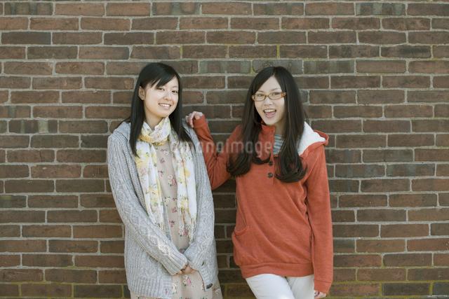 若い女性のポートレートの写真素材 [FYI04556198]