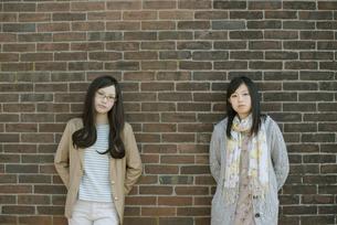 若い女性のポートレートの写真素材 [FYI04556201]