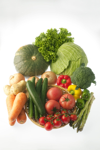 野菜の集合の写真素材 [FYI04559331]