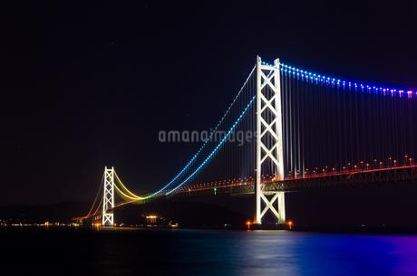 明石海峡大橋の写真素材 [FYI04559708]