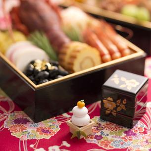 おせち料理の写真素材 [FYI04559760]