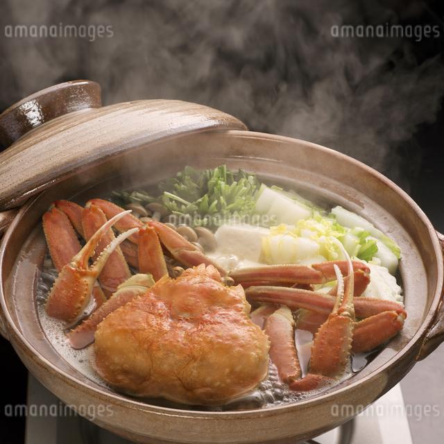 かに鍋の写真素材 [FYI04559792]