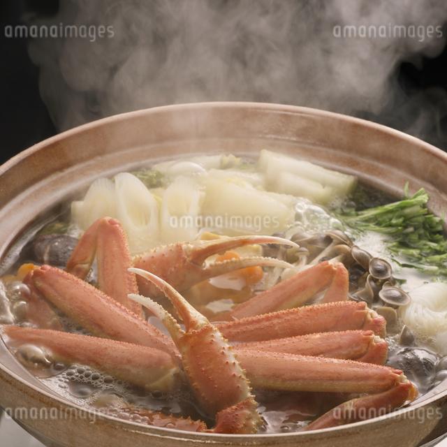 かに鍋の写真素材 [FYI04559794]