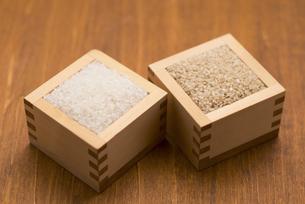 白米と玄米の写真素材 [FYI04560124]
