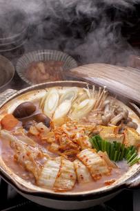 キムチ鍋の写真素材 [FYI04560232]