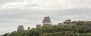 長崎平戸の町並み 平戸城の写真素材 [FYI04560549]
