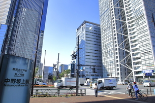 中野坂上駅の写真素材 [FYI04560756]