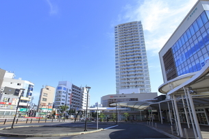 東中野駅前の写真素材 [FYI04560759]