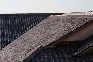 屋根瓦の写真素材 [FYI04560925]