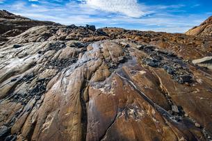パタゴニア・ビエドマ氷河の擦痕の写真素材 [FYI04561421]