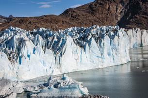 パタゴニア・ビエドマ氷河の氷壁の写真素材 [FYI04561451]