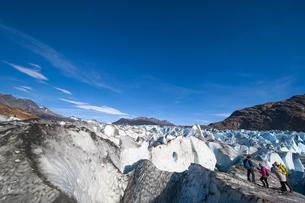 パタゴニアのビエドマ氷河:セラック地帯の写真素材 [FYI04561453]