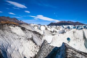 パタゴニアのビエドマ氷河:セラック地帯の写真素材 [FYI04561454]