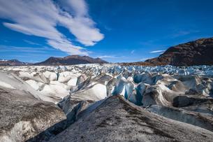 パタゴニアのビエドマ氷河:セラック地帯の写真素材 [FYI04561457]