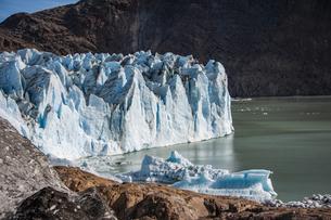 パタゴニアのビエドマ氷河の写真素材 [FYI04561462]