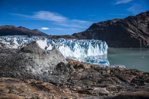 パタゴニアのビエドマ氷河の写真素材 [FYI04561463]