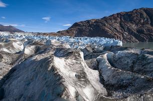パタゴニアのビエドマ氷河・セラック地帯の写真素材 [FYI04561468]