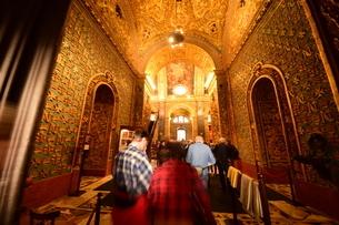 思うに<世界一豪華絢爛な聖堂> 聖ヨハネ准司教座聖堂(バレッタ<マルタ島>)の写真素材 [FYI04562067]
