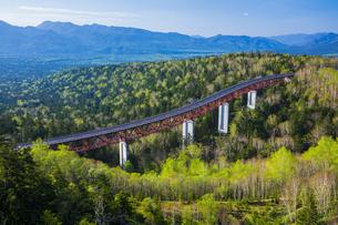 三国峠の松見大橋の写真素材 [FYI04562302]