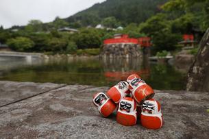 勝尾寺勝ちダルマの写真素材 [FYI04562326]