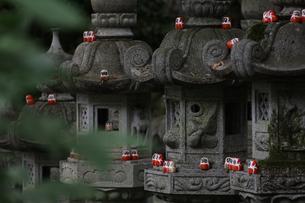 勝尾寺勝ちダルマの写真素材 [FYI04562340]