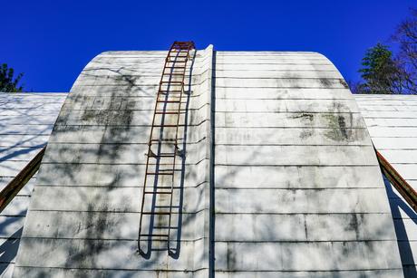 ゴーチェ子午環 国立天文台(東京都三鷹市)の写真素材 [FYI04562469]
